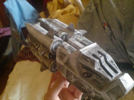 Бумажные модели Ракетницы и
